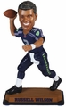 "Russell Wilson (Seattle Seahawks) 2015 NFL Real Jersey 10"" Bobble Heads Forever Collectibles"