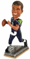 Russell Wilson (Seattle Seahawks) 2015 Springy Logo Action Bobble Head Forever Collectibles
