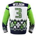 Russell Wilson (Seattle Seahawks) NFL Ugly Player Sweater