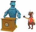 Sam the Eagle and Rizzo The Muppets Series 4 Action Figure 2-Pack Diamond Select Toys