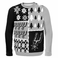 San Antonio Spurs NBA Ugly Sweater BusyBlock