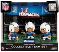 San Diego Chargers Lil Teammates NFL 3-Pack Collectible Team Set
