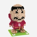 San Diego Padres MLB 3D Mascot BRXLZ Puzzle By Forever Collectibles