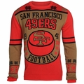 San Francisco 49ers Retro Cotton Sweater by Klew