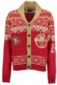 San Francisco 49ers NFL Ugly Sweater Cardigan