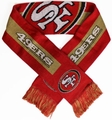 San Francisco 49ers NFL Big Logo Scarf By Forever Collectibles