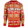 San Francisco 49ers Aztec NFL Ugly Crew Neck Sweater