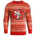 San Francisco 49ers NFL Aztec Ugly Crew Neck Sweaters by Forever Collectibles