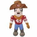 "San Francisco 49ers NFL 8"" Plush Team Mascot"