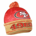 San Francisco 49ers NFL Camouflage Light Up Printed Beanies