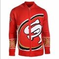 San Francisco 49ers NFL Full Zip Hooded Sweater