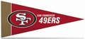 San Francisco 49ers NFL Mini Pennant