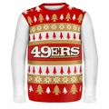San Francisco 49ers NFL Ugly Sweater Wordmark