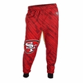 San Francisco 49ers NFL Polyester Mens Jogger Pant by Klew