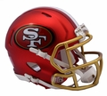 San Francisco 49ers Riddell Blaze Alternate Speed Mini Helmet