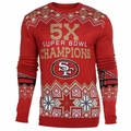 San Francisco 49ers NFL Super Bowl Commemorative Crew Neck Sweater