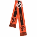 San Francisco Giants MLB Big Logo Scarf By Forever Collectibles