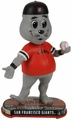 Lou Seal (San Francisco Giants) Mascot 2017 MLB Headline Bobble Head by Forever Collectibles