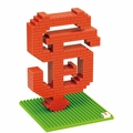 San Francisco Giants MLB 3D Logo BRXLZ Puzzles By Forever Collectibles