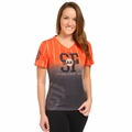 San Francisco Giants MLB Team Color Gradient Women's V-Neck Tee by Forever Collectibles