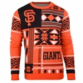 San Francisco Giants Patches MLB Ugly Sweater by Klew