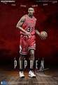 "Scottie Pippen (Chicago Bulls) 1/6th Scale 12"" Action Figure Enterbay"
