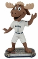 Mariner Moose (Seattle Mariners) Mascot 2017 MLB Headline Bobble Head by Forever Collectibles