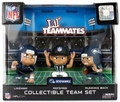 Seattle Seahawks Lil Teammates NFL 3-Pack (QB, RB, REF) Collectible Team Set
