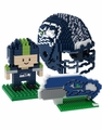 Seattle Seahawks NFL 3D BRXLZ Puzzle Set By Forever Collectibles