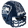 Seattle Seahawks NFL 3D Helmet BRXLZ Puzzle By Forever Collectibles
