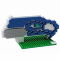 Seattle Seahawks NFL 3D Logo BRXLZ Puzzle By Forever Collectibles