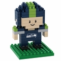 Seattle Seahawks NFL 3D Player BRXLZ Puzzle By Forever Collectibles