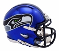 Seattle Seahawks NFL Chrome Speed Mini Helmet by Riddell