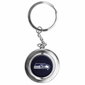 Seattle Seahawks NFL Spinner Keychain