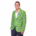 Seattle Seahawks NFL Ugly Business Sport Coat Repeat Logo by Forever Collectibles
