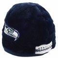 Seattle Seahawks Plush Cozy Helmet Hat by Forever Collectibles