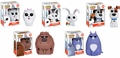 Secret Life Of PETS Complete Set (5) Funko Pop!