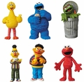 Sesame Street Complete Set (6) Ultra Detail Figures by Medicom