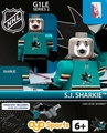 Sharkie Mascot (San Jose Sharks): Gen1 NHL OYO Minifigure