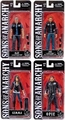 "Sons of Anarchy 6"" Action Figures Complete Set (4) Mezco"