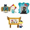 South Park Micro Set Complete Set (3) McFarlane Construction Set