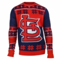 St. Louis Cardinals Big Logo MLB Ugly Sweater