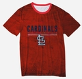 St. Louis Cardinals Big Logo Half Tone Tee by Forever Collectibles