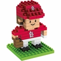 "St Louis Cardinals MLB 3D 2"" Player BRXLZ Puzzle By Forever Collectibles"