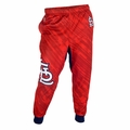 St. Louis Cardinals MLB Polyester Mens Jogger Pant by Klew
