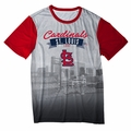 St Louis Cardinals Outfield Photo Tee by Forever Collectibles
