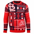St. Louis Cardinals Patches MLB Ugly Sweater by Klew