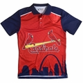 St. Louis Cardinals MLB Polyester Short Sleeve Thematic Polo Shirt
