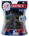 "Starlin Castro (New York Yankees) 2016 MLB 6"" Figure Imports Dragon"