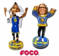Steph Curry/Dance Cam Mom (Golden State Warriors) Bobbleheads Exclusive Set (2)